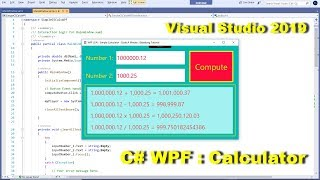 C# WPF : How to Create a Simple Calculator and Play Sound Part 2/2