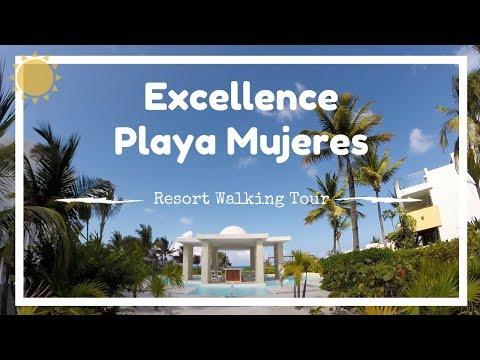 Excellence Playa Mujeres Walking Tour