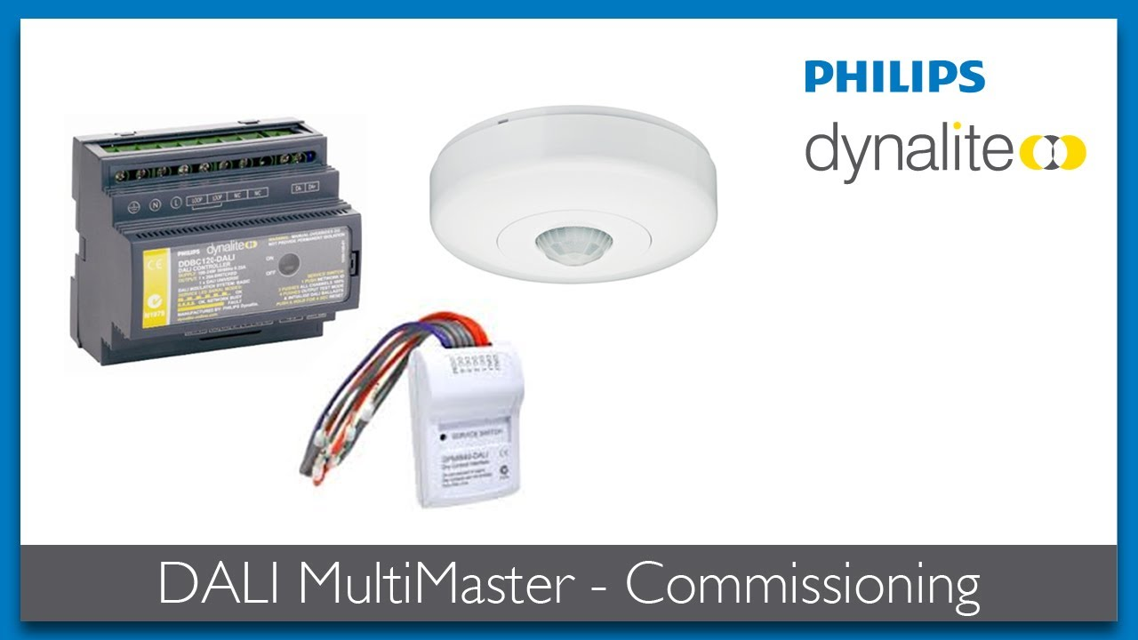 Dali Ballast Wiring Diagram Trusted Diagrams Philips F54t5ho Multimaster Commissioning Youtube Tridonic