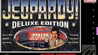 Jeopardy! Deluxe Edition (Super Nintendo)