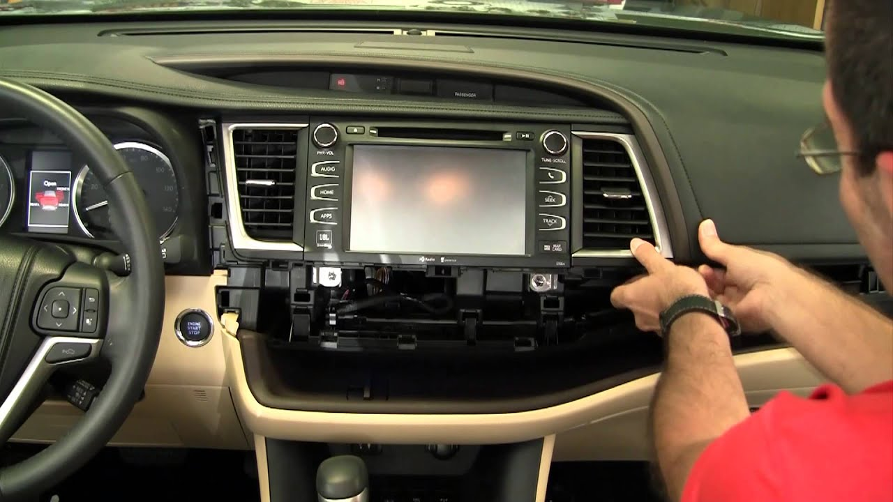 Metra Toyota Highlander Dash Kit 95 99 8248b Youtube