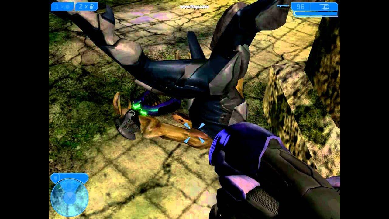 Halo MegaBloks Jackal Stop Motion test - YouTube