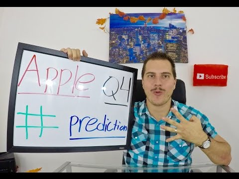 Why I think Apple will SMASH Q4 Numbers! - Apple Stock!