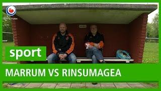 VOETBAL: Marrum vs Rinsumagea