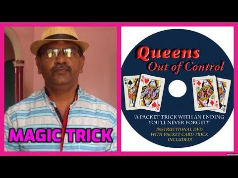 ONLINE TAMIL MAGIC I ONLINE MAGIC TRICKS TAMIL #634 I QUEENS OUT OF CONTROL I தமிழ்மேஜிக்