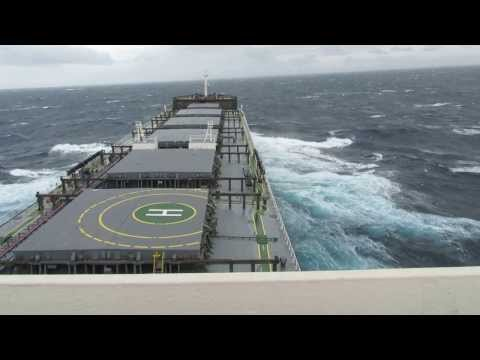 South Africa Passage - Cape Agulhas - Heavy Weather - 08-06-2013