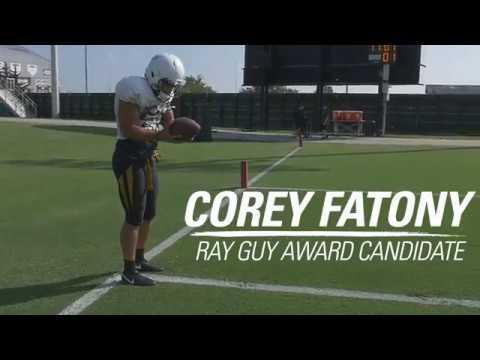 Ray Guy Award Candidate - Corey Fatony