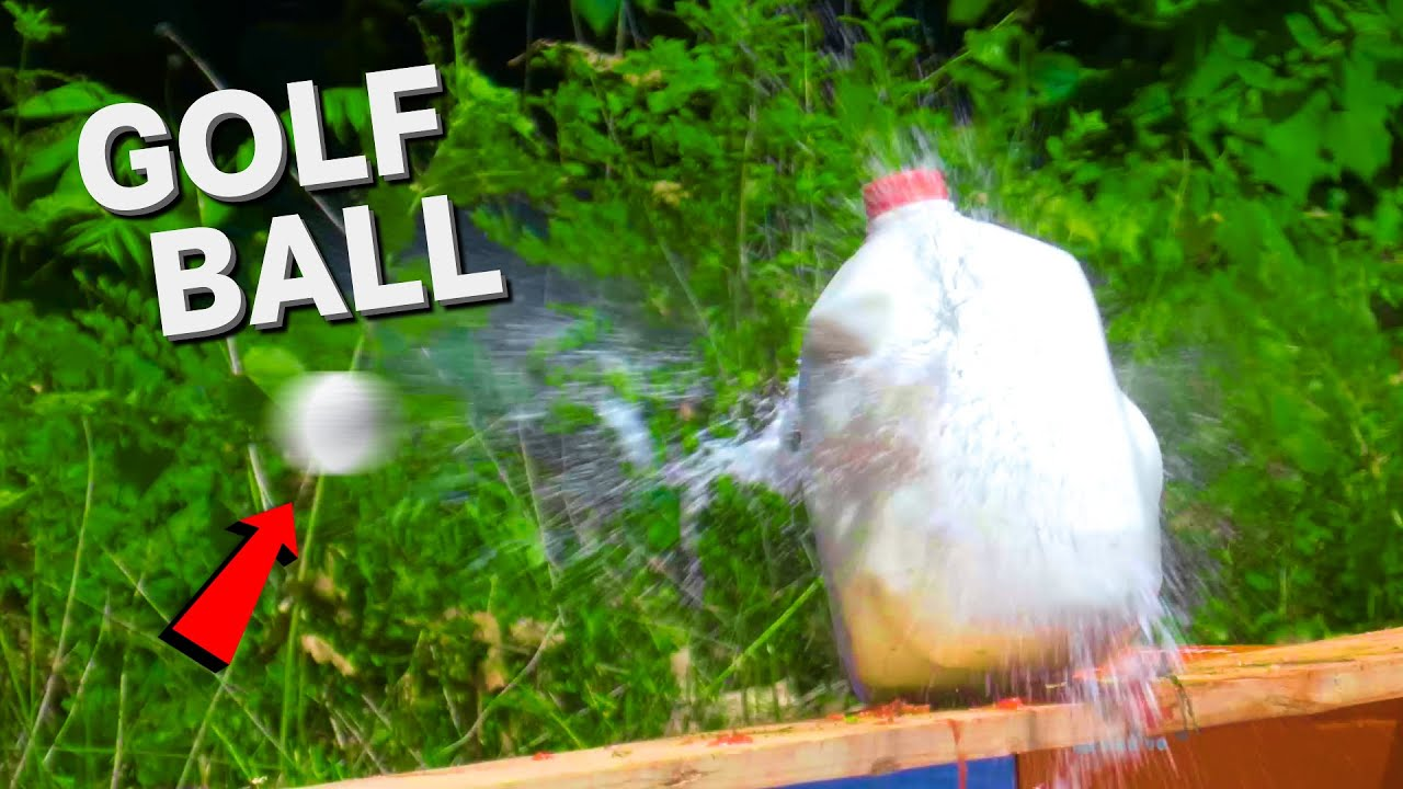 Download We Destroyed Random Stuff With Golf Balls... Good Good