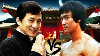 Bruce Lee Versus Jackie Chan!☯| Lee VS. Chan CREATORS of Martial Arts BADASS Fight Scenes: Who Am I?