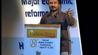 Mr. Kumar Anand at the Motilal Oswal's 8th Annual Global Investor Conference