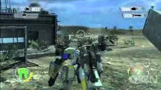 Front Mission Evolved Xbox 360 Gameplay - Fort Monus