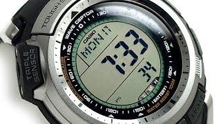 Обзор!!! Наручные часы CASIO ProTreck PRW-1300-1VER