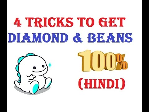 How to increase Diamonds and beans in bigo live app easy 2018..