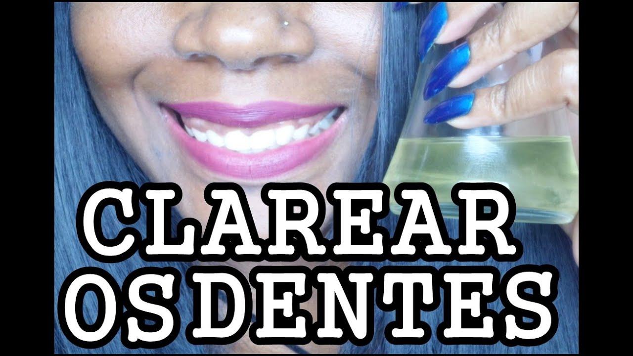 Dentes Brancos Naturalmente Com Oleo De Coco Clareamento Dental