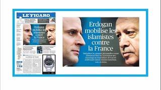 Turkey's Erdogan is 'mobilising Islamists against France'