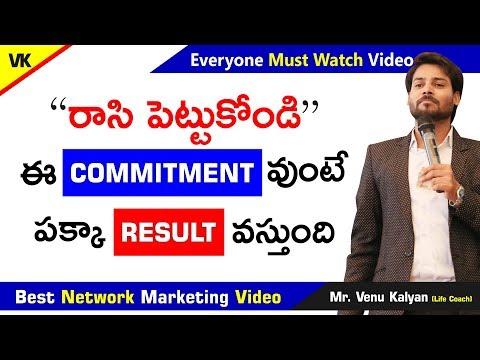 best-success-formula-|-network-marketing-videos-in-telugu-|-venu-kalyan-|-life-coach