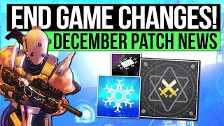 Destiny 2   HUGE END GAME CHANGES! - Masterwork Weapons, Fated Engrams, Three of Coins, Ranked PvP!