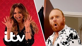 Through The Keyhole | Keith Lemon Explores Emily Atack's London Flat! | ITV
