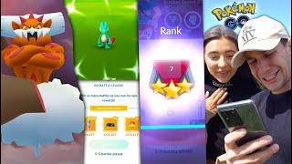 I'VE NEVER DONE THIS BEFORE OMG + NEW LEGENDARY! (Pokémon GO)