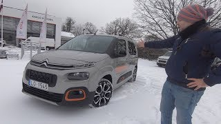 Citroen Berlingo 2019, Идеален Для Путешествий