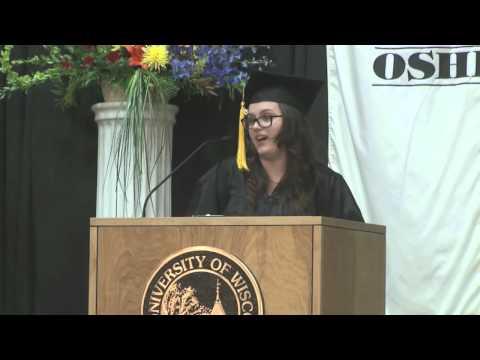 UW Oshkosh Spring 2015 Commencement
