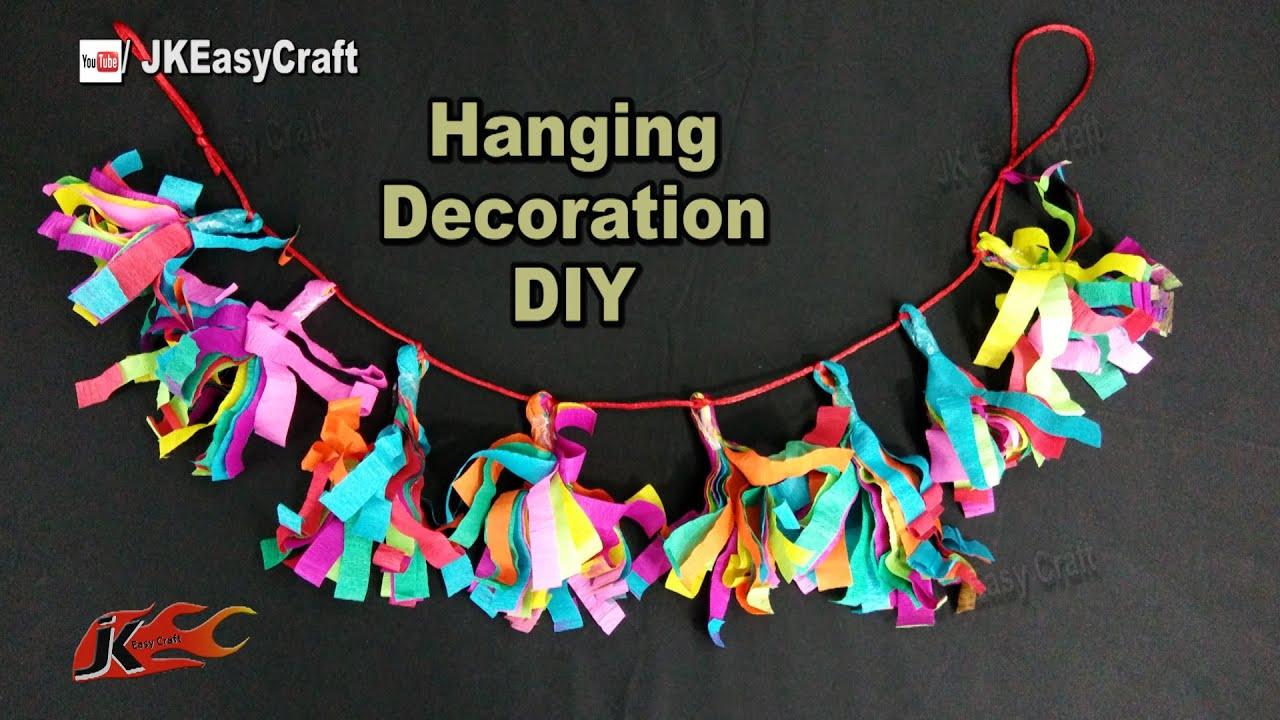 Easy Paper Decorations Toran Ganpatidecoration How