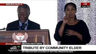 AmaXhosa King Funeral | Tribute By Former Pres. Mbeki