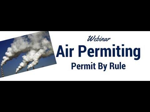 Air Permitting/PBR
