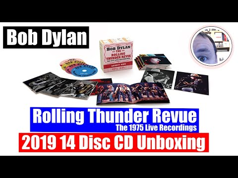 Bob Dylan 14 CD Unboxing: Rolling Thunder Revue 1975 Live Recordings Mp3