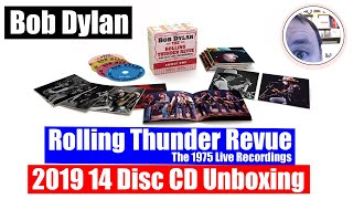 Bob Dylan 14 CD Unboxing: Rolling Thunder Revue 1975 Live Recordings