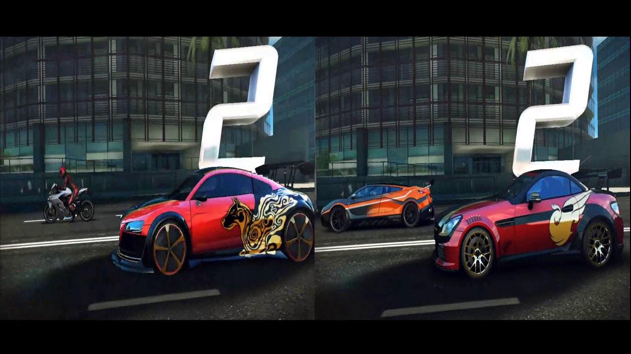 Asphalt 8 audi r8 e tron special edition 1111 vs for Mercedes benz slk 55 amg special edition