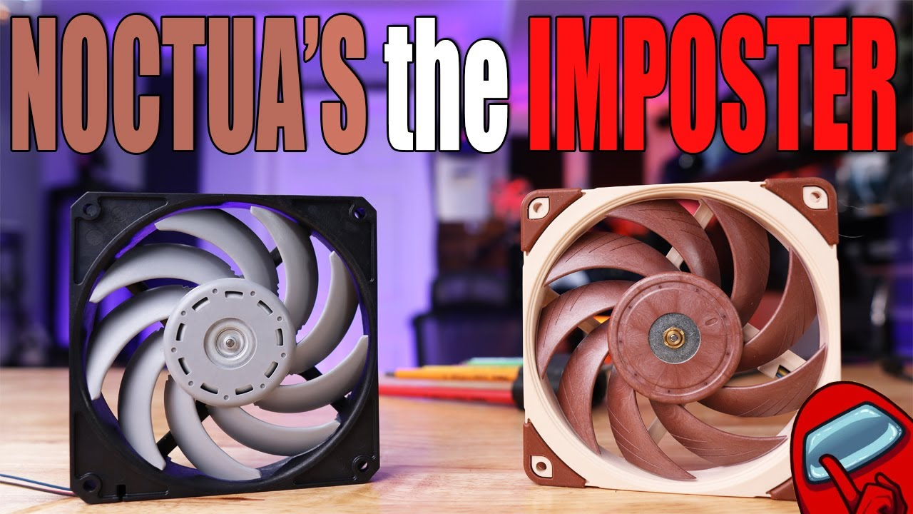 Noctua A12x25 is a CLONE! of the Nidec Servo Gentle Typhoon from 2009