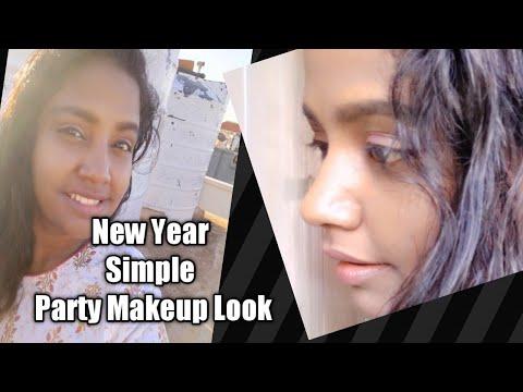 new year 2020 natural makeup look in tamil basic makeup