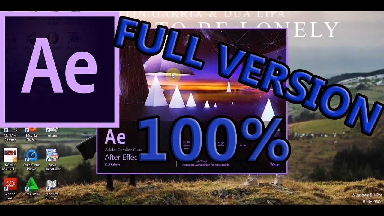 Cara Instal Adobe After Effects CC 2015 Full Version
