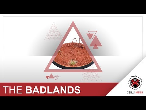 How to Paint Badlands / Martian Warhammer Bases