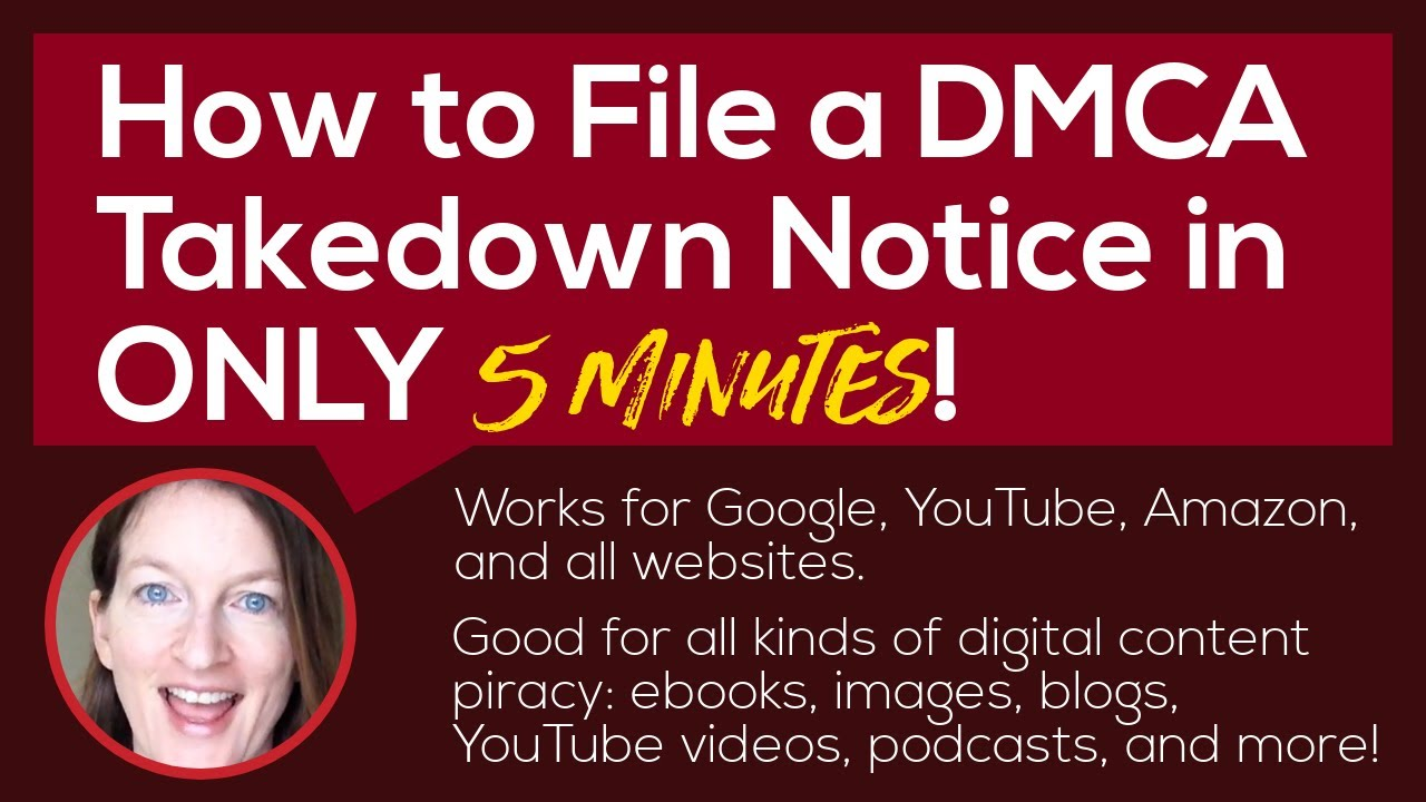 Download How to File a DMCA Takedown Notice to Google, YouTube, Amazon or Any Site | Copyright Infringement