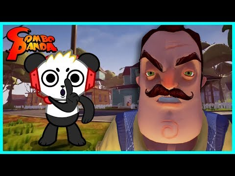 New Hello Neighbor Ep 5 Stuck in the BASEMENT Let's Play with Combo Panda