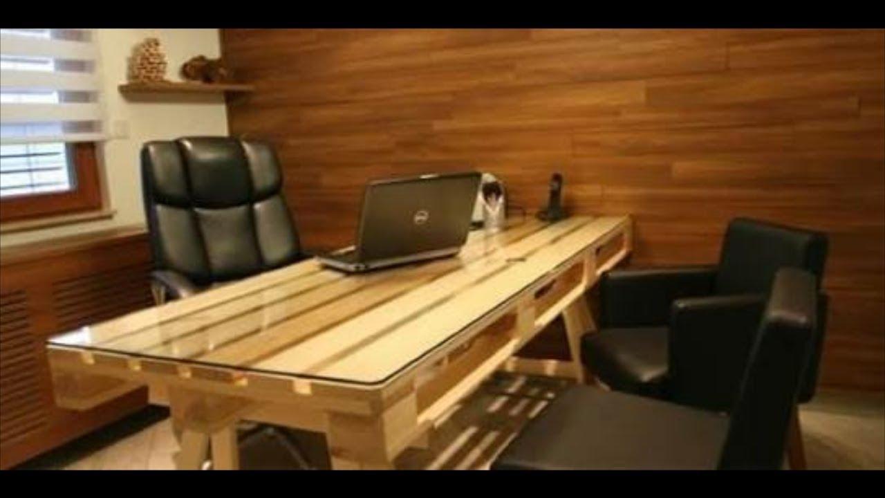 Homemade Tv Stand Designs : Mesa pra computador de pallet youtube