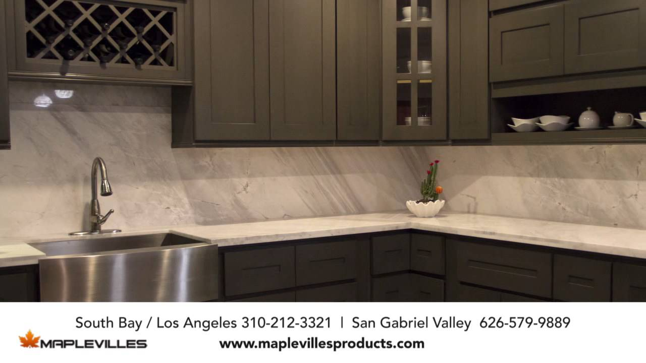 Maplevilles   Custom Kitchen Cabinets And Granite Countertop