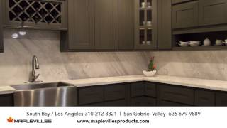 Maplevilles Custom Kitchen Cabinets And Granite Countertop