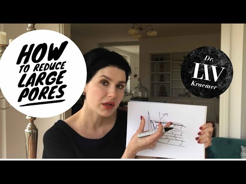 How to reduce large pores in the face by Dr LIV