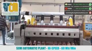 Semi Automatic Box Making Plant (Hi-Speed)