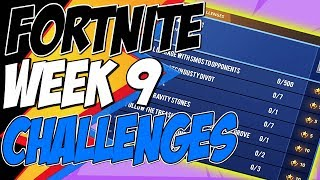 Fortnite CHALLENGES WEEK 9 SEASON 7 LEAKED, Complete 3 Timed Trials with Stormwing - How to Complete