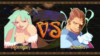 Darkstalkers Chronicle: The Chaos Tower: Morrigan Playthorugh