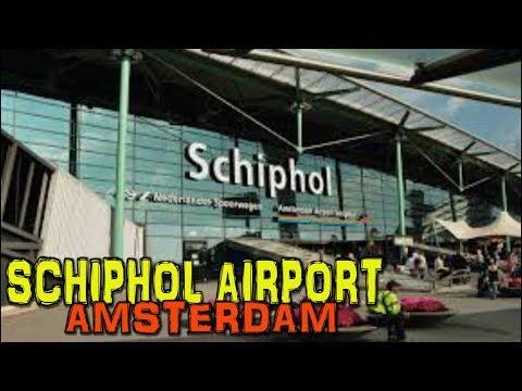 AMSTERDAM AIRPORT SCHIPHOL - Departure Terminal 4K