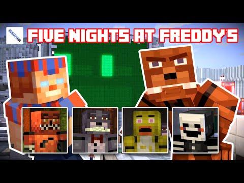 Play as FNAF Freddy Fazbear! - Minecraft Story Mode FULL Playthrough (FNAF Theme)