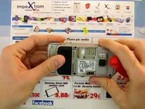IMPEXTROM Cambiar / Trocar / Change display nokia n86