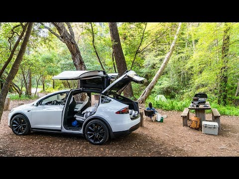 Electric Vehicle Road Trip to Big Sur | Sunset