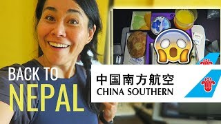 BACK TO NEPAL | Chinese & Nepali Food on CHINA SOUTHERN ECONOM…