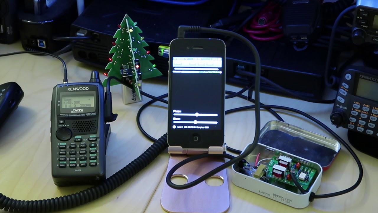 SSTV using iPhone by felix0921